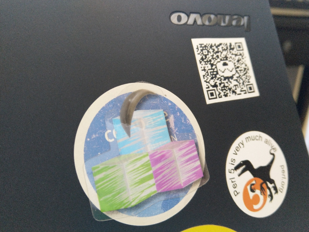 I really like my Perl 5 sticker and dread the day Perl 7 will finally release and make it obsolete